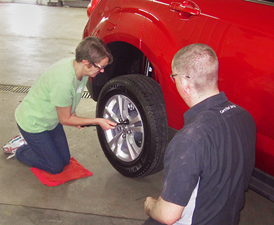 Learn how to change a Flat Tire